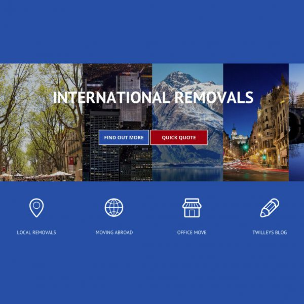 Twilleys Removals website
