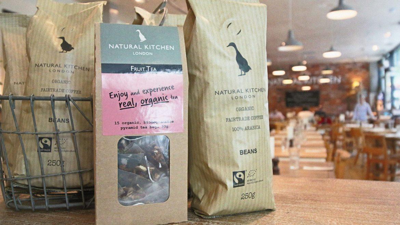 Organic coffee Natural Kitchen London